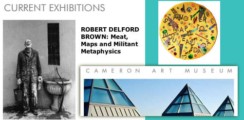 Robert Delfod Brown at the Cameron Art Museum